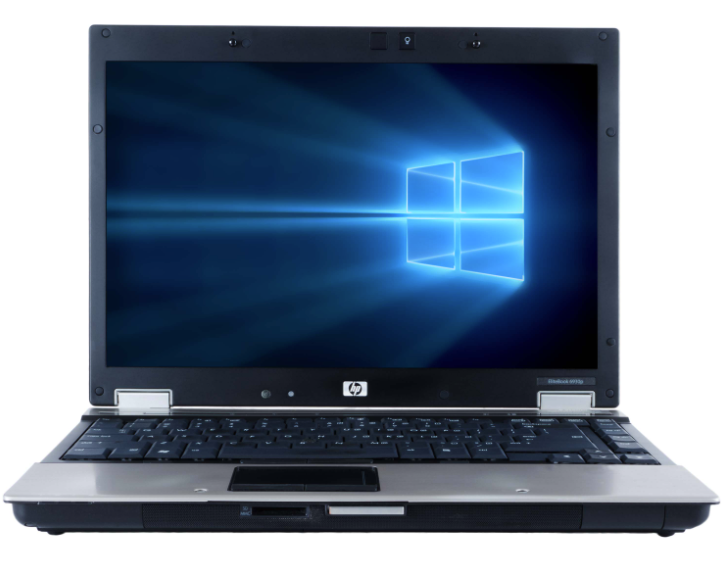 HP LAPTOP ( ELITEBOOK 6930P ) FAST CORE 2 DUO T9400 4GB 250GB HDD WIN 10 WITH 6 MONTHS WARRANTY